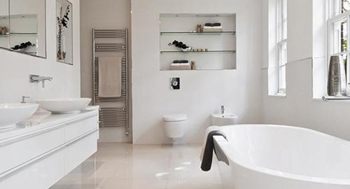 Bathroom Design On A Budget designing a bathroom: style on a budget - haggle shopping